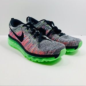 WMNS Nike Air flyknit Max 'ghost green multicolor'